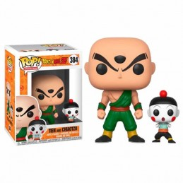 Figura FUNKO POP 384 CHIAOTZU y TIEN Dragon Ball Z