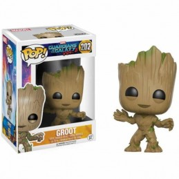 Funko POP GROOT 202 Guardianes de la Galaxia Marvel