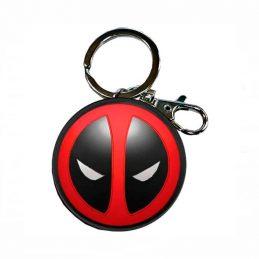 Llavero Metal Logo Deadpool...