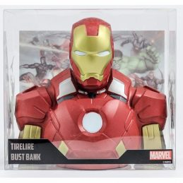Busto Hucha Iron Man Marvel...