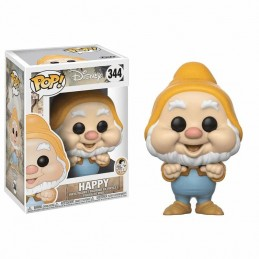 Figura FUNKO POP 344 BONACHÓN HAPPY Blancanieves y Los 7...