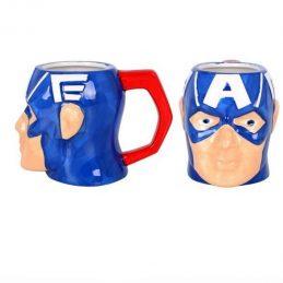 Taza Cerámica 3D Capitán...