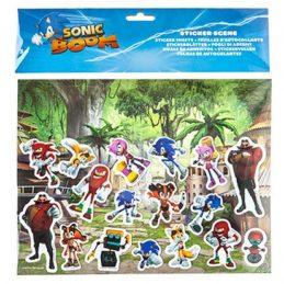 Set Pegatinas Sonic Boom...