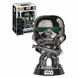 Funko POP IMPERIAL DEATH TROOPER CHROME 154 Star Wars