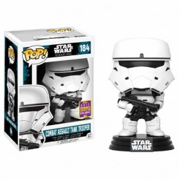 Funko POP 184 COMBAT ASSAULT TANK TROOPER SDCC2017 Star Wars