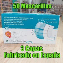 Caja 50 Mascarillas...