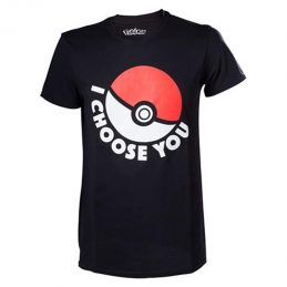 Camiseta Pokeball I Choose...