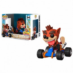 Funko POP 64 CRASH TEAM RACING Crash Bandicoot