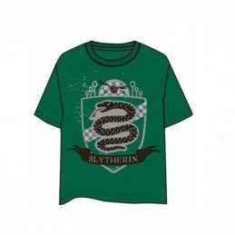Camiseta Escudo Slytherin...
