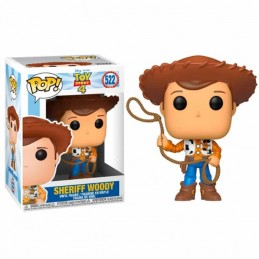 Funko POP SHERIFF WOODY 522 Toy Story 4 Disney