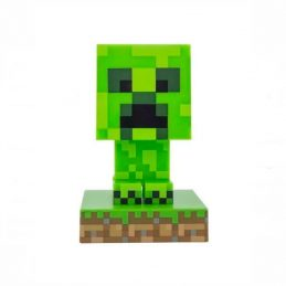 Lámpara Mini Minecraft Creeper