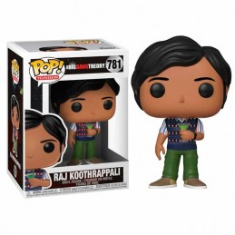 Funko POP RAJ KOOTHRAPPALI 781 The Big Bang Theory Serie 2