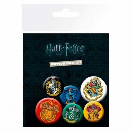 Set de Chapas ESCUDOS Harry...