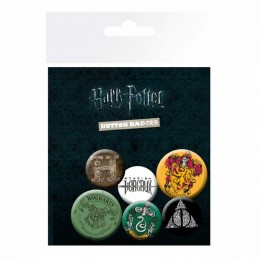 Set de Chapas Harry Potter