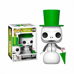Funko POP SNOWMAN JACK 448 Pesadilla Antes de Navidad Disney