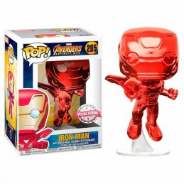 Funko POP IRON MAN RED CHROME 285 Los Vengadores INFINITY...