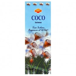Incienso COCO SAC Pack 6 Cajas 20 Varillas Cada Una