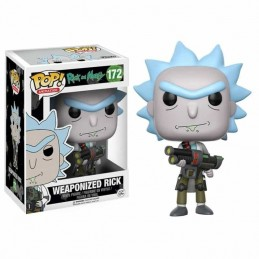 Funko POP WEAPONIZED RICK 172 Rick and Morty