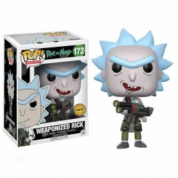 Funko POP WEAPONIZED RICK 172 Rick and Morty CHASE