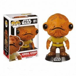 Funko POP ALMIRANTE ACKBAR 81 Star Wars