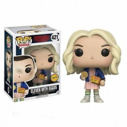 Funko POP ELEVEN con EGGOS 421 Stranger Things CHASE