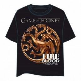 Camiseta FIRE BLOOD TARGARYEN Juego de Tronos