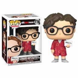 Funko POP LEONARD HOFSTADTER en BATA 778 The Big...