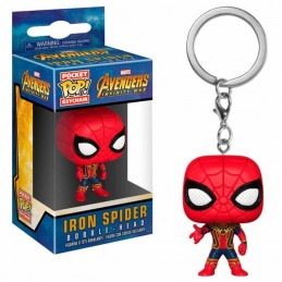Llavero Pocket POP! Keychain IRON SPIDER Avengers...