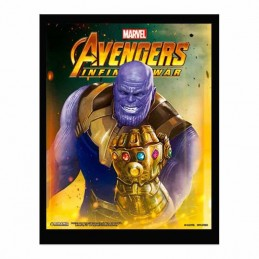 Cuadro Poster 3D THANOS Avengers Infinity War