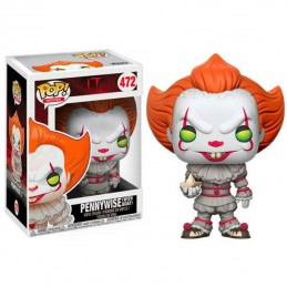 Figura FUNKO POP 472 PENNYWISE con Barquito de Papel It 2017
