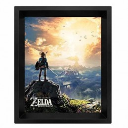 Cuadro Poster 3D THE LEGEND OF ZELDA SUNSET