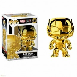 Funko POP ANT-MAN 384 Marvel Studios 10 CROMADO