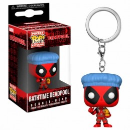 Llavero Pocket POP! Keychain DEADPOOL BATHTIME Marvel