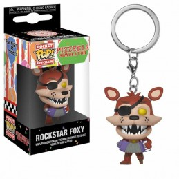 Llavero Pocket POP! Keychain ROCKSTAR FOXY Five Nights at...