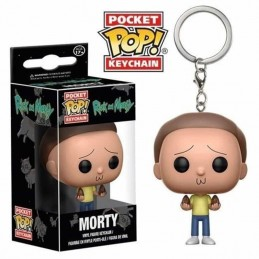 Llavero Pocket POP! Keychain MORTY Rick & Morty