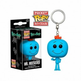 Llavero Pocket POP! Keychain MR. MEESEEKS Rick & Morty