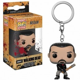 Llavero Pocket POP! Keychain NEGAN The Walking Dead
