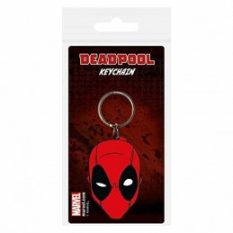 Llavero Caucho DEADPOOL FACE