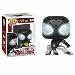 Funko POP! SPIDERMAN MISTER NEGATIVE 399 Marvel GITD...