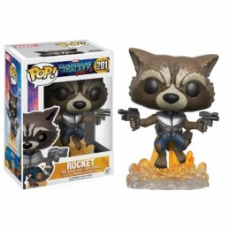 Funko POP ROCKET 201 Guardianes de la Galaxia Vol. 2 Marvel