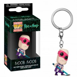 Llavero Pocket POP! Keychain NOON NOOB Rick & Morty
