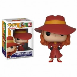 Funko POP CARMEN SANDIEGO 662 Carmen Sandiego