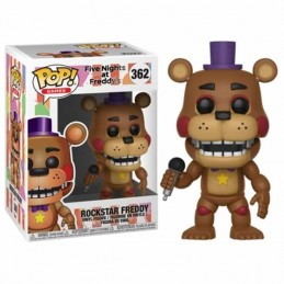 Funko POP ROCKSTAR FREDDY 362 Five Nights at Freddy´s