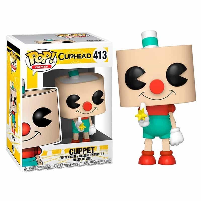 Games Cuphead-King dés 313 26968 Vinyl Figure FUNKO Pop