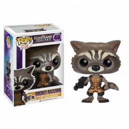 Funko POP ROCKET RACCOON 48 Guardianes de la Galaxia Marvel