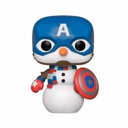 Funko POP CAPITÁN AMÉRICA Marvel Holiday