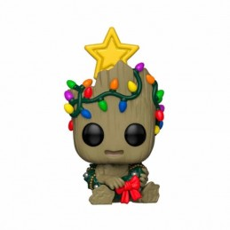 Funko POP GROOT Marvel Holiday