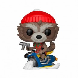 Funko POP ROCKET Marvel Holiday