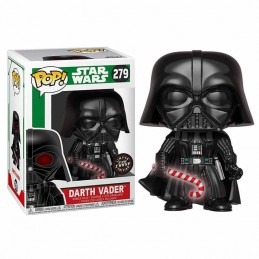 Funko POP DARTH VADER 279 Star Wars Holiday LIMITED GLOW...