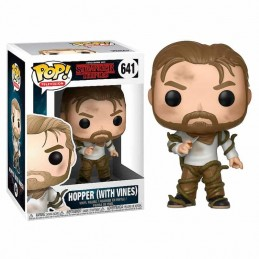 Funko POP HOPPER con RAICES 641 Stranger Things